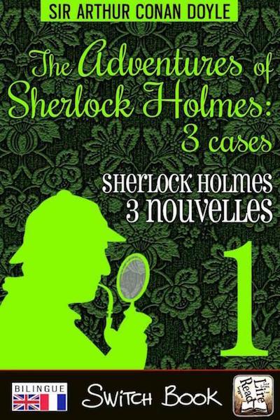 Livre bilingue Les aventures de Sherlock Holmes volume 1 - The adventures of Sherlock Holmes bilingual novel Switch Book