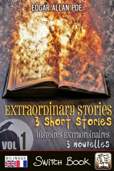 Livre bilingue Histoires extraordinaires volume 1 - Extraordinary stories bilingual novel Switch Book
